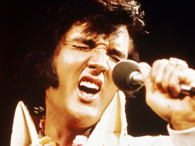 Elvis' Stuff Has Left the Auction