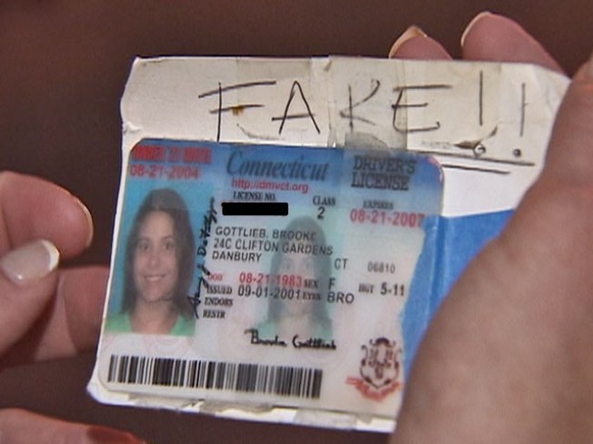 Losing Id - Your Chicago Risk License Fake Nbc