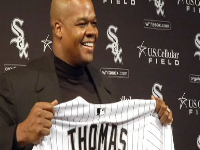 White Sox Retire Frank Thomas' No. 35