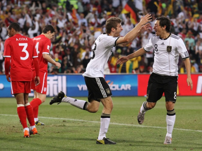 Germany Rolls Over England in World Cup