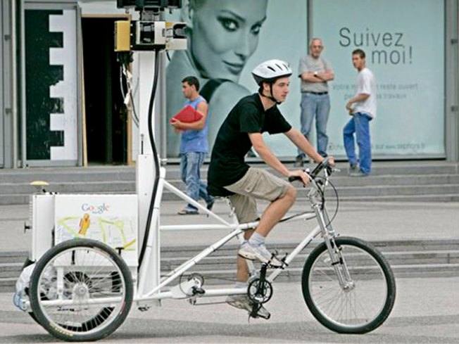 Google Maps Tricycle Has Savoir Faire