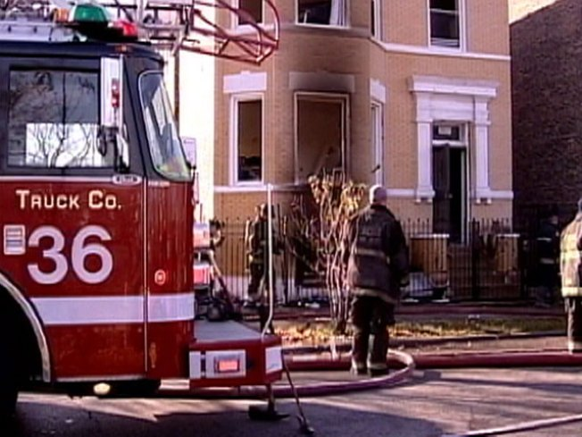 Wheelchair-Bound Woman Rescued From Fire