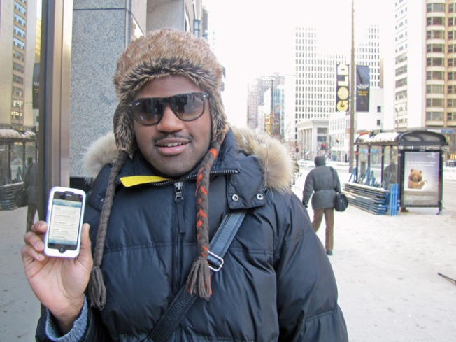 Cold Doesn't Stop Verizon iPhone Buyers