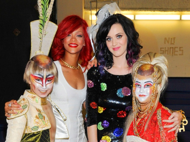 REPORT: Did Rihanna Miss Katy Perry's Wedding?