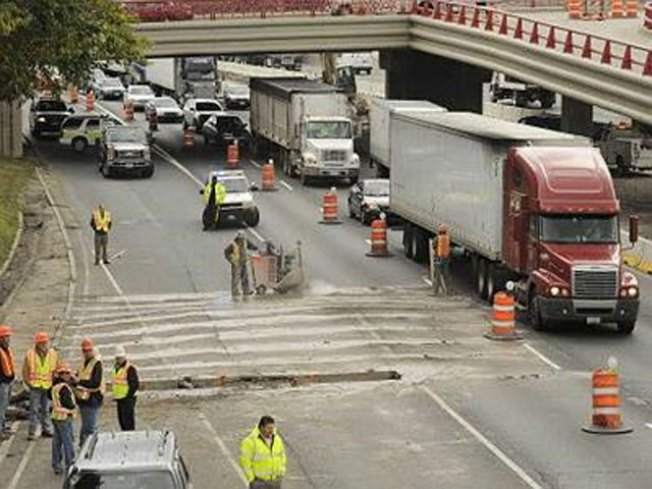 IDOT:  Contractor Not Responsible for Kennedy Repairs