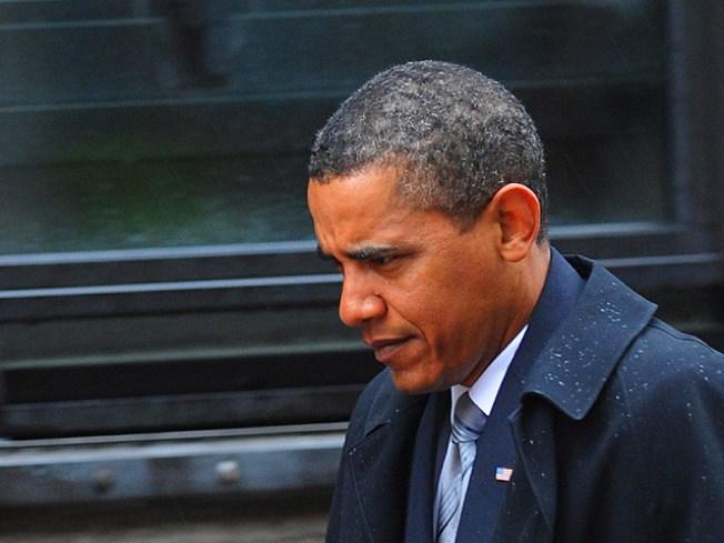 After Delivering Eulogy, Obama Heads Back to Vineyard