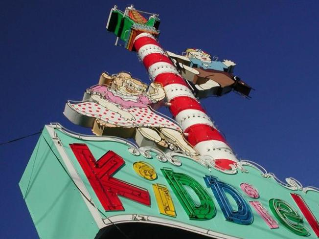 Kiddieland Reopens for Auction