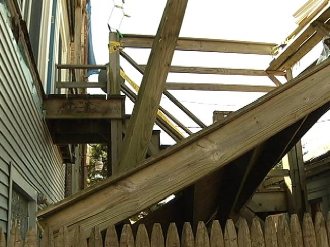 Suit Filed in Lakeview Porch Collapse
