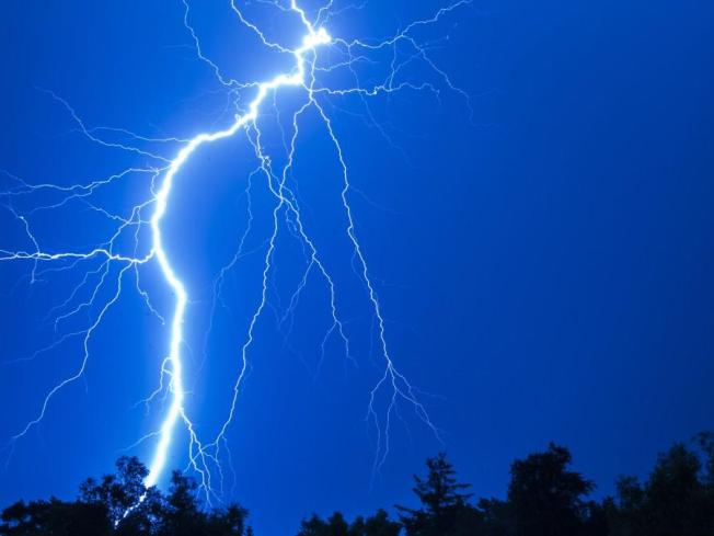 Lightning Strike Critically Injures 12-Year-Old Boy