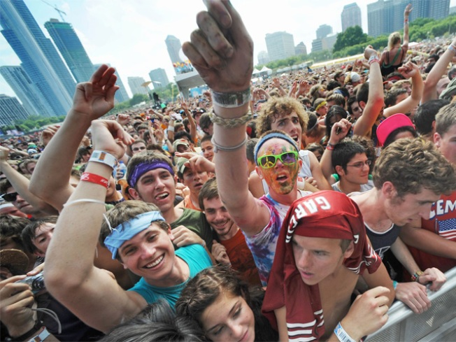 Lollapalooza Releases Detailed 2014 Schedule of Acts