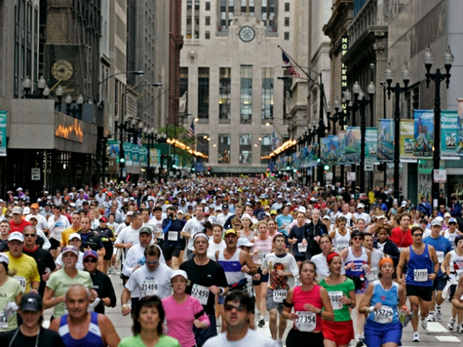 Live Coverage of Bank of America Chicago Marathon Begins Sunday