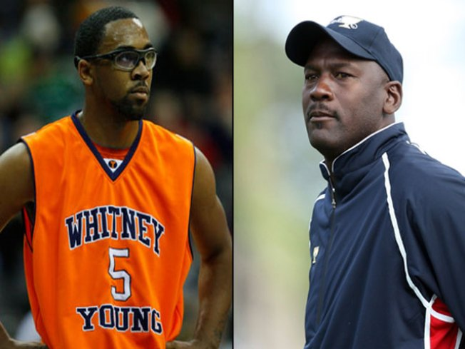 Marcus Jordan Dares to Wear Nikes