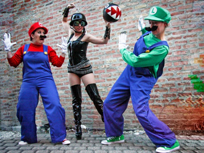 Super Mario Brothers Go Burlesque