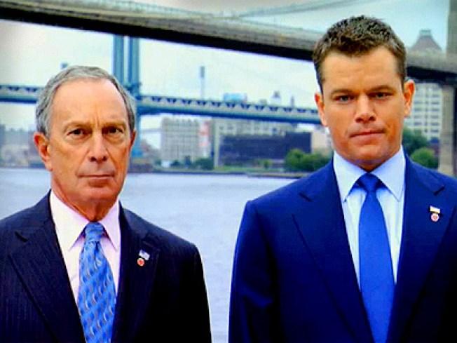 Matt Damon for Mayor