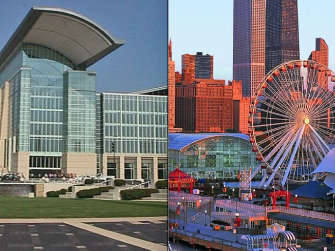 "Daley: Navy Pier, McCormick Place like ""Apples, Oranges"""