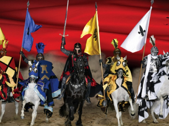 King Sues Medieval Times