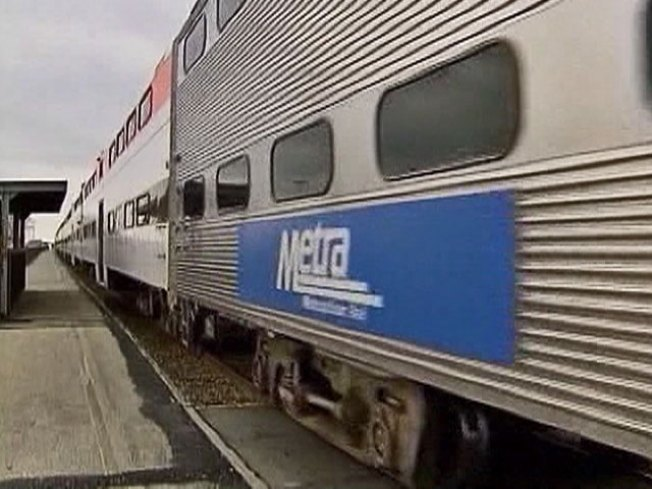 Metra Line Back On Track After Truck Hits Viaduct