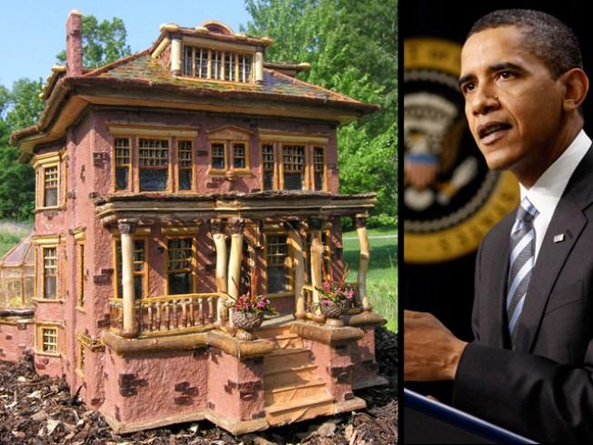 Obama's South Side House Goes Mini