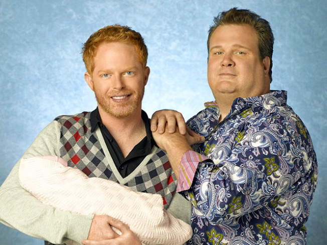 'Modern Family' Men Will Kiss