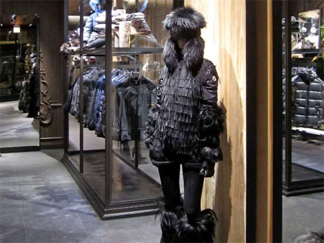 Moncler Boutique Opens