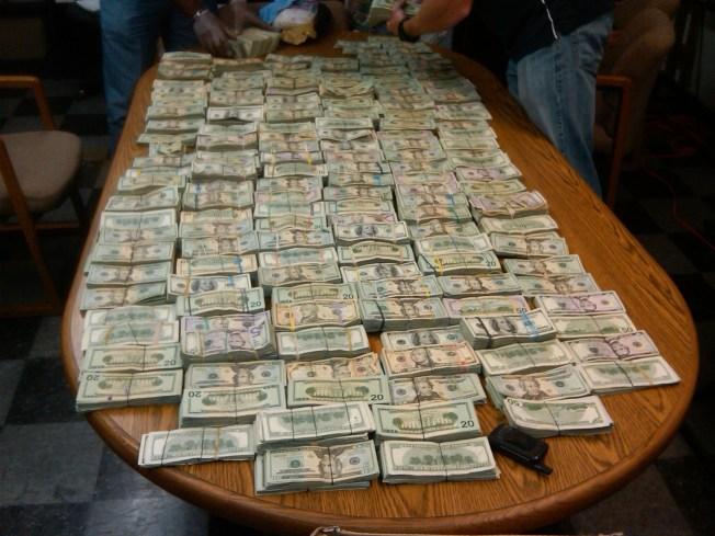 Investigation Nets $1M in Cash, 26 Kilos of Coke