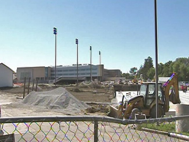 Work Resumes at Naperville Central