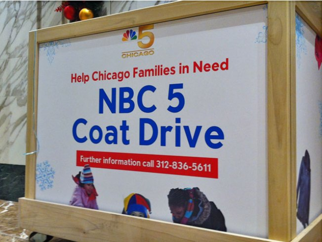 NBC Chicago Collects More Than 1,300 Coats