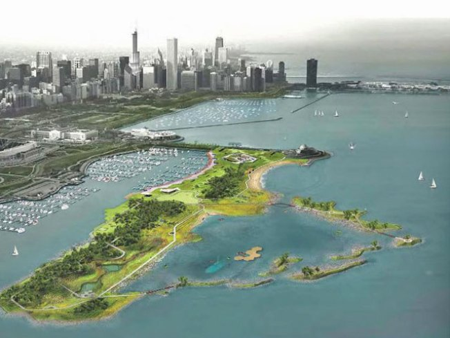Park District Unveils Green Plan for Northerly Island