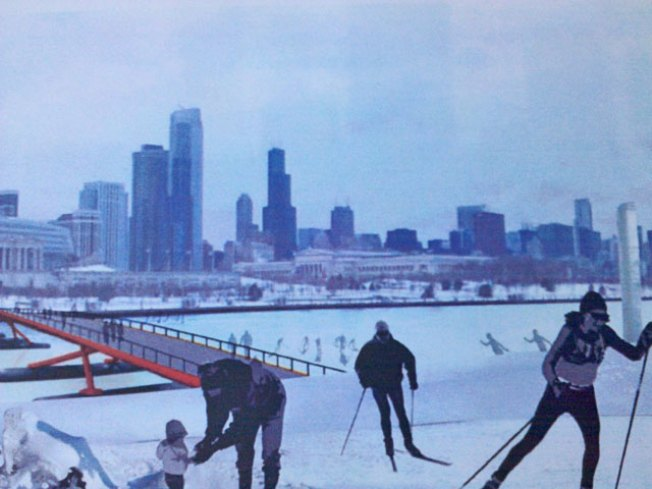 Chicago Park Welcomes Skiers, Snowshoeing