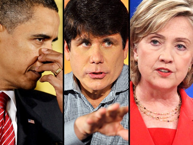 Obama, Clinton Connected to Blago Scheme