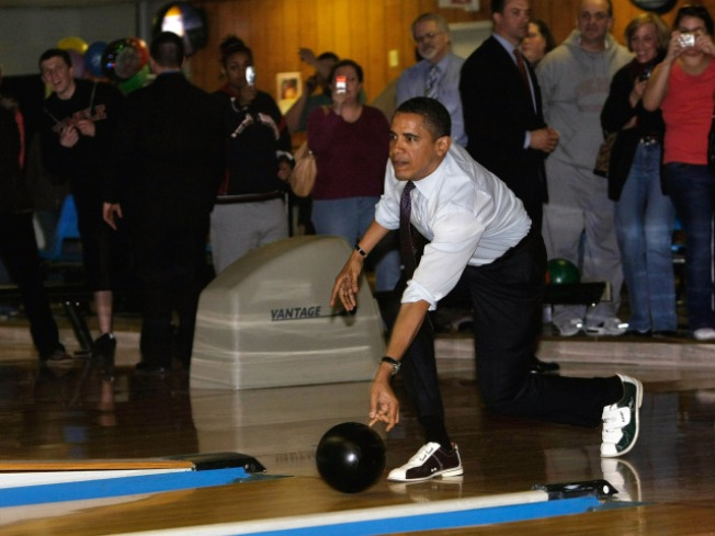 Obama Bowls Way Out Of Gutter