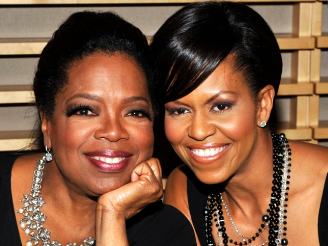 Oprah and Michelle's Olympic Reunion?
