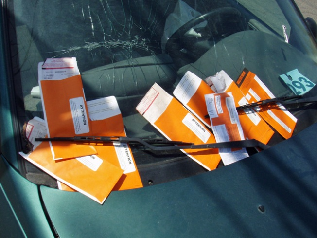 Lawsuit: Parking Ticket Shows TMI