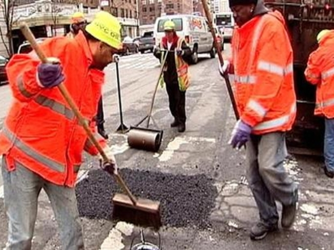 See a Pothole?  Call it In.