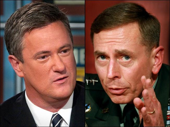 Petraeus, Scarborough Eyed for '12 GOP Run