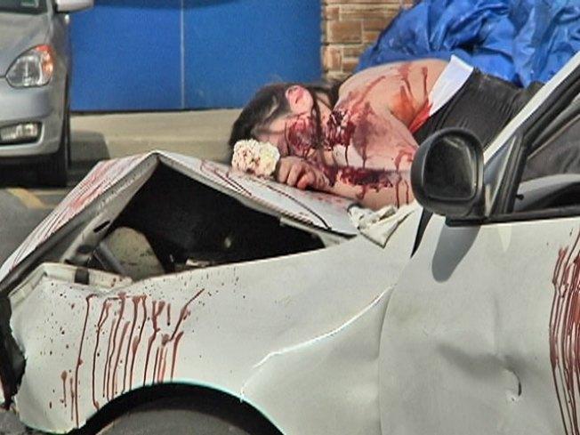 Students Get Sobering Look at Drunken Driving