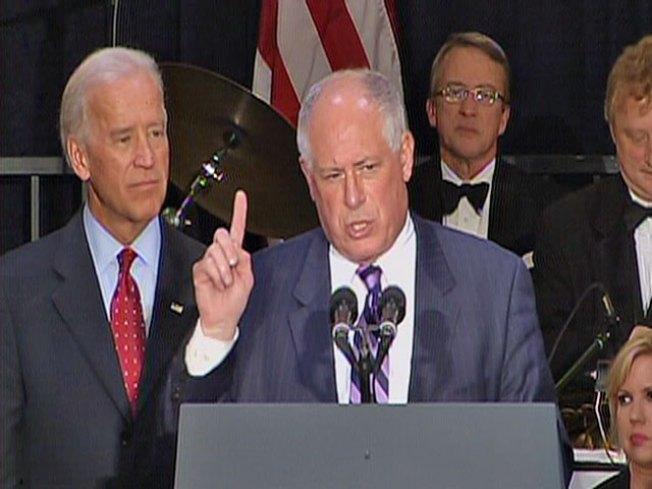 Biden Rallies to Bolster Quinn's Campaign