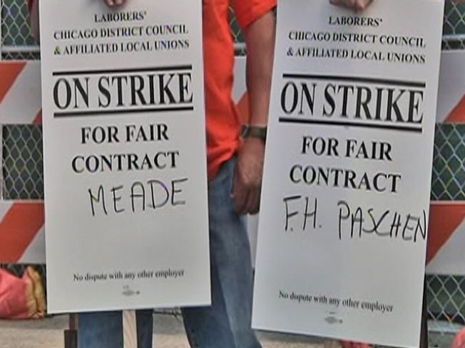 Striking Construction Workers Reach Deal