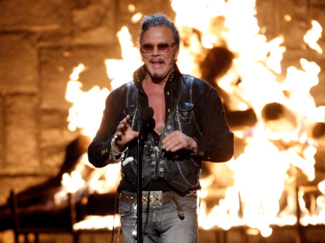 Mickey Rourke: Sports Helped My Career Comeback