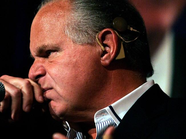 Rush Limbaugh Dumped From Rams Buy Bid