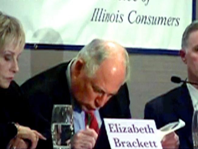 Video: Pat Quinn Nods Off at Health Care Debate