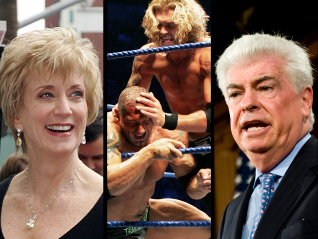 Senate Smackdown, WWE CEO Considers Run Against Dodd