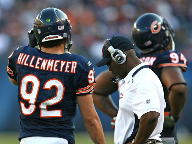Why Lovie Smith and Jerry Angelo Played the Hillenmeyer Situation Correctly