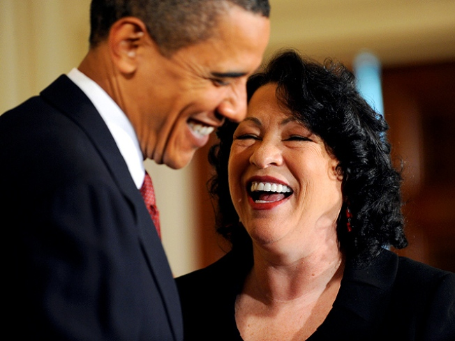 Sotomayor Gets White House Welcome