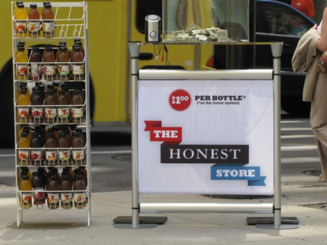 Honest Tea Tests Honor System