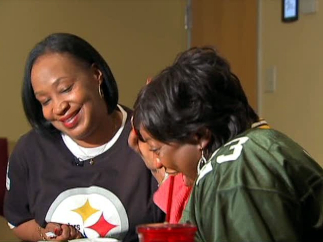 Super Coincidence: Two Moms, a Packer and a Steeler