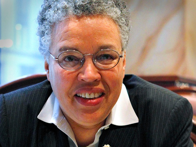 Toni Preckwinkle Steps Out