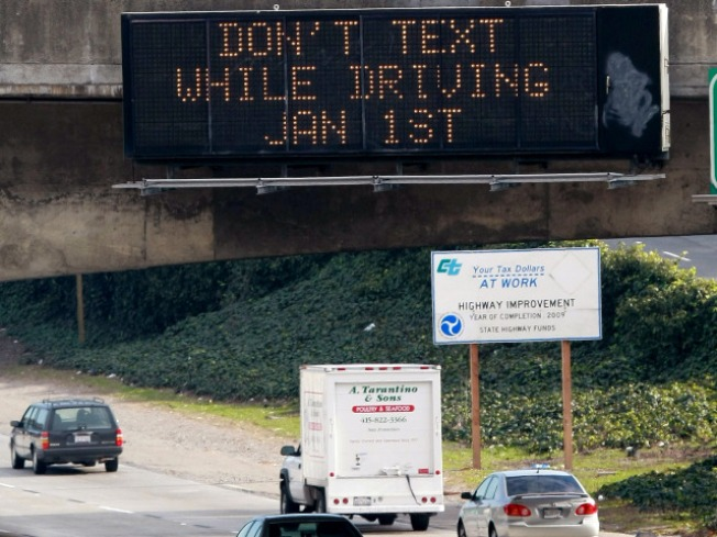 Texting Ban, Other Traffic Laws Drop Friday