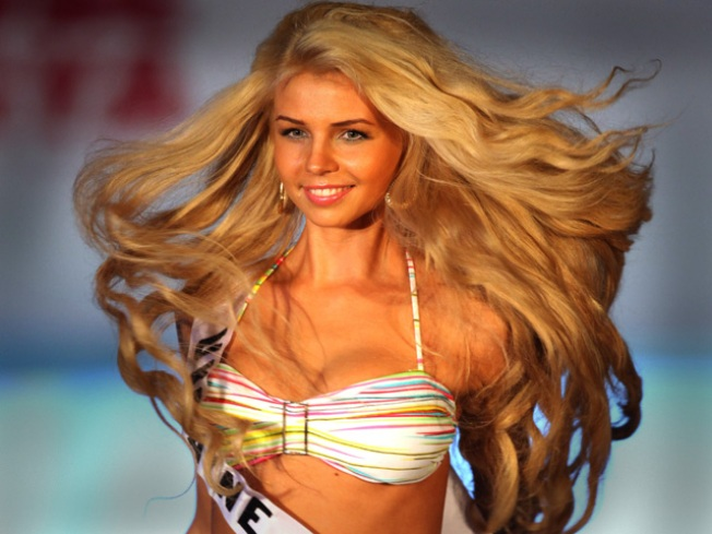 """""""Miss Universe"""": Bikini Clad Babes & a Motley Crew of Performers"""