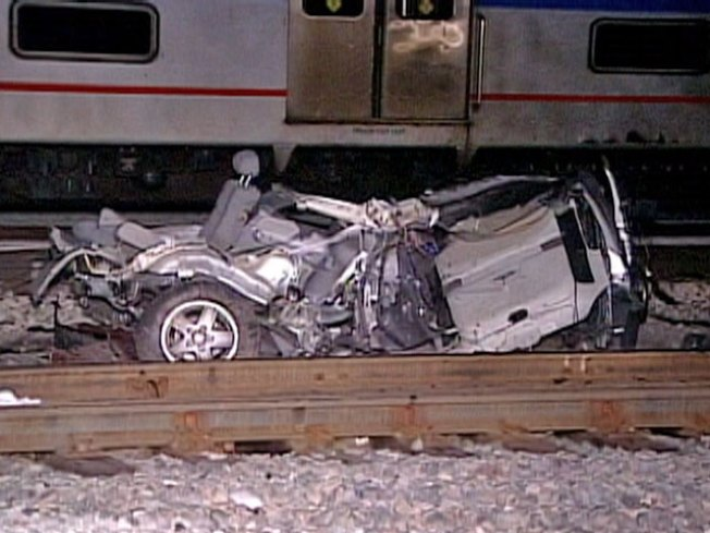 Train Strikes Car, Kills Driver